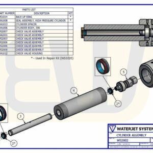 HYDRAULIC DRIVE ASSEMBLY 50HP - 100HP E60C WSI