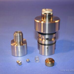 CHECK VALVE ASSY BALL-SEAT IN/BALL OUT WS100 WSI
