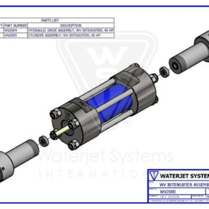 INTENSIFIER ASSEMBLY V-40 WSI